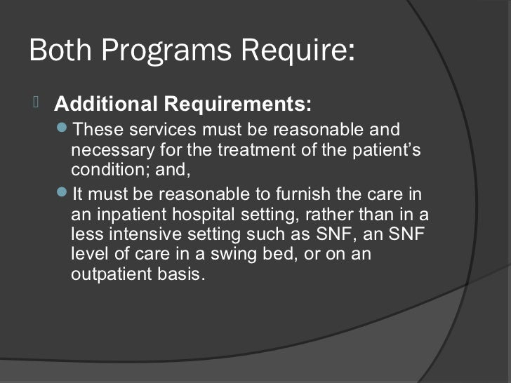 differences between inpatient rehabilitation  u0026 skilled