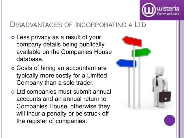 The advantages and disadvantages of incorporating a business