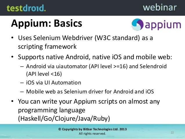 GitHub - RobotiumTech/robotium: Android UI Testing