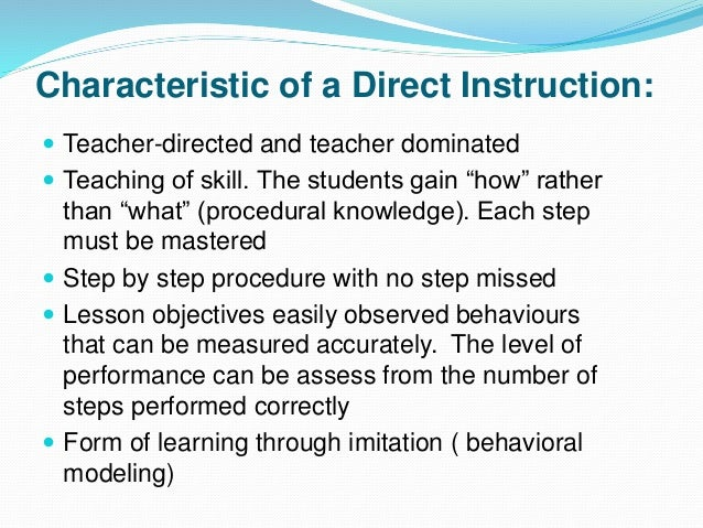 Methods of instruction ppt video online download.