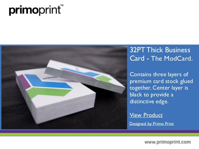Different types of business cards view product designed by primo print 13 32pt thick business card colourmoves