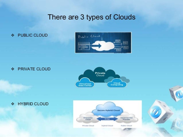 Different cloud types explained