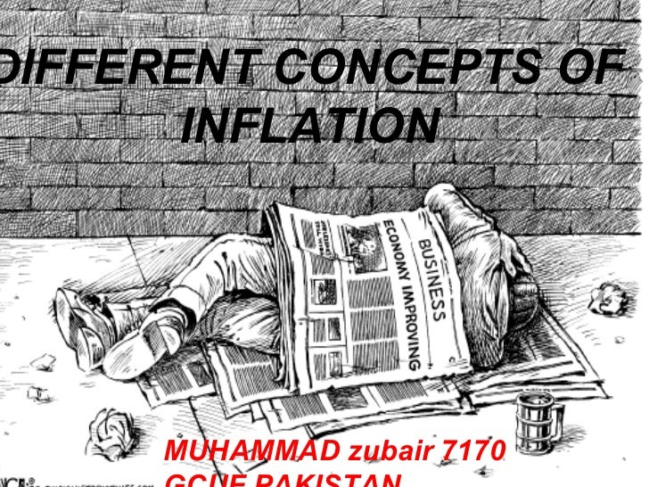 DIFFERENT CONCEPTS OF       INFLATION     MUHAMMAD zubair 7170