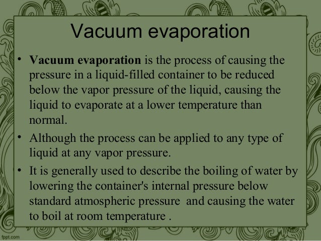 Water Boil Room Temperature Pressure