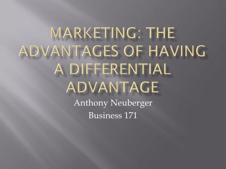 Anthony Neuberger Business 171