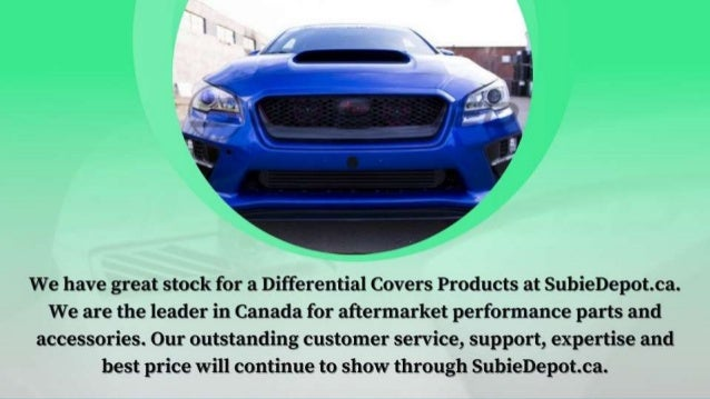 Differential Covers and Other Related Products in Canada Slide 2