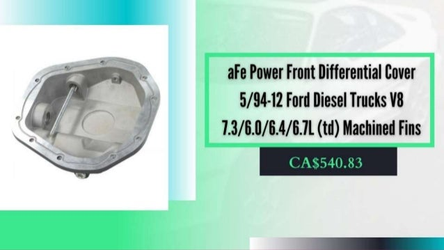 Differential Covers and Other Related Products in Canada Slide 3