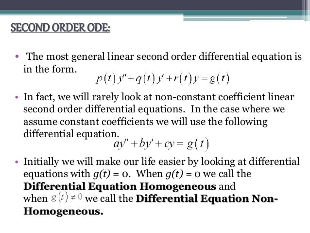 what is a differential equation pdf