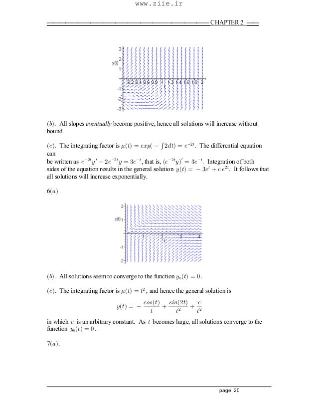 differential equations solutions manual pdf