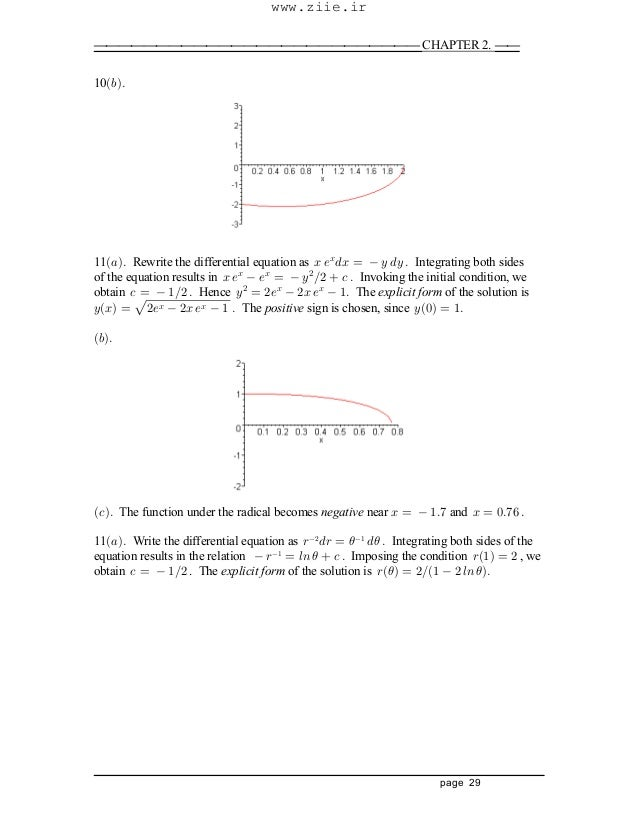 differential equations Boyce Diprima Solution manual – Separable Differential Equations Worksheet