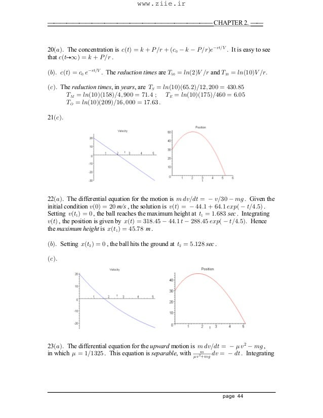 differential equations Boyce & Diprima Solution manual