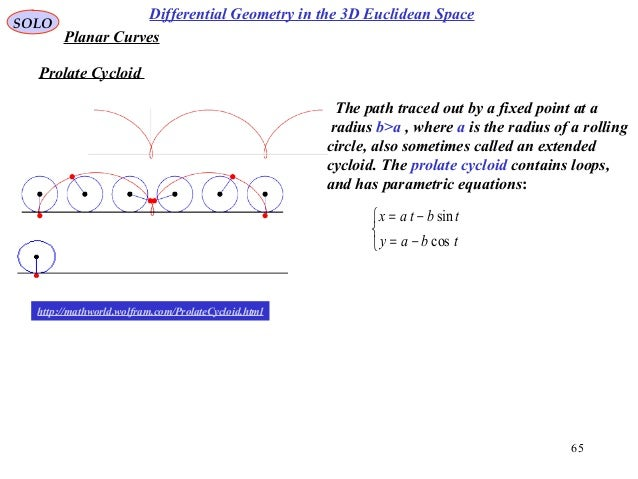 Differential geometry three dimensional space