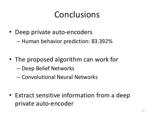Differential Privacy Preservation For Deep Auto Encoders