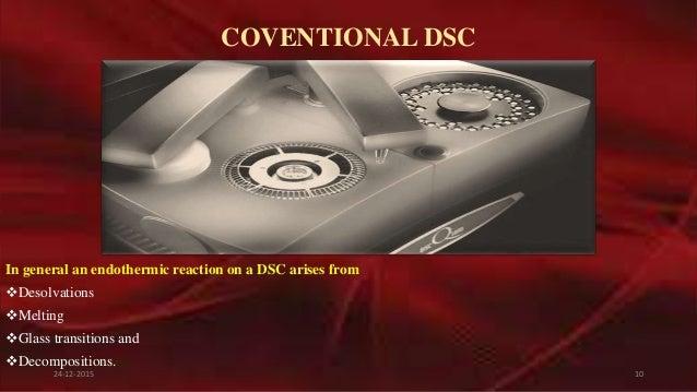 Differential scanning calorimetry [dsc]