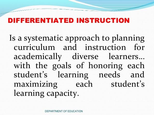 the goals of differentiation carol ann tomlinson pdf