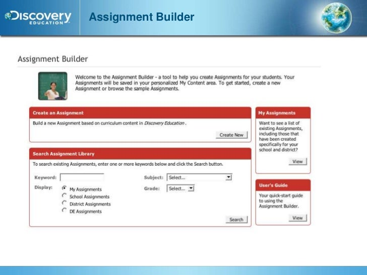 Assignments discovery education techbook discovery