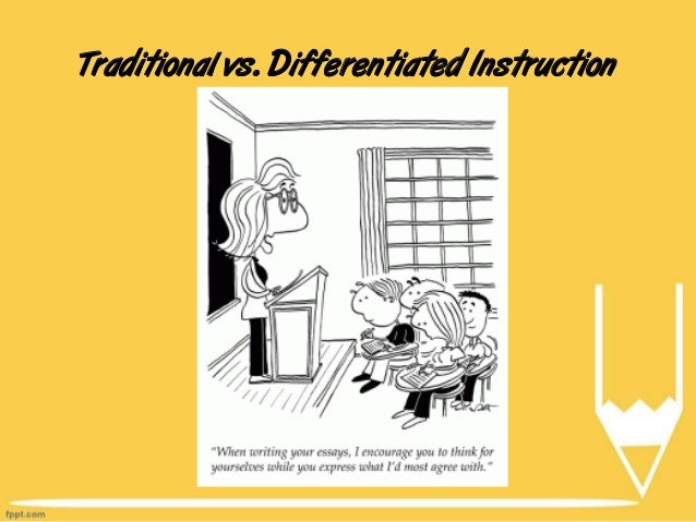 history of differentiated instruction