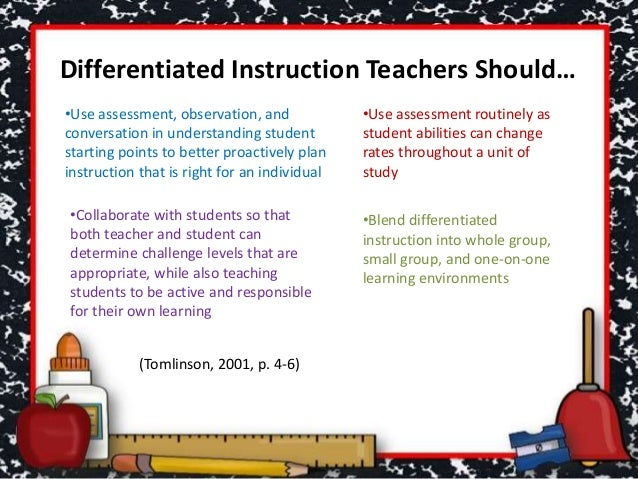ASCD Express 6.20 - From Differentiated Instruction to ...