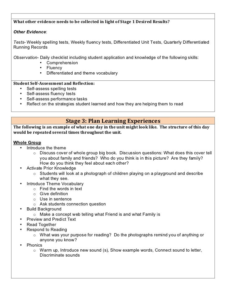 Differentiated Lesson Plans Examples Acurnamedia