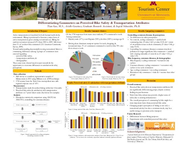 Differentiating Commuters on Perceived Bike Safety & Transportation AttributesTian Guo, M.S., Arielle Courtney, Graduate R...