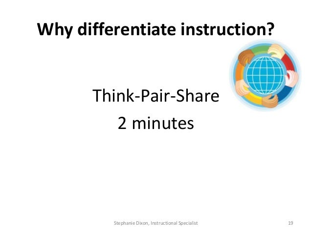 Process - Differentiated Instruction