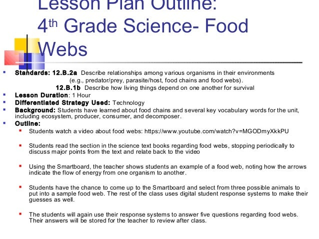 differentiated instruction lesson plans science