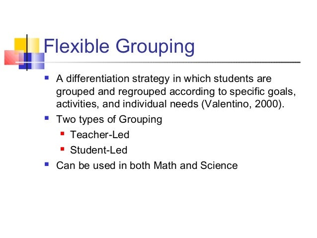 Differentiating Instruction Mte 533