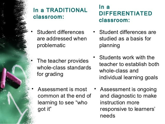 Differentiation can be a lot to manage. What strategies can you.