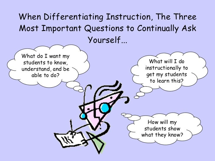 What Is Differentiated Instruction?   Reading Rockets