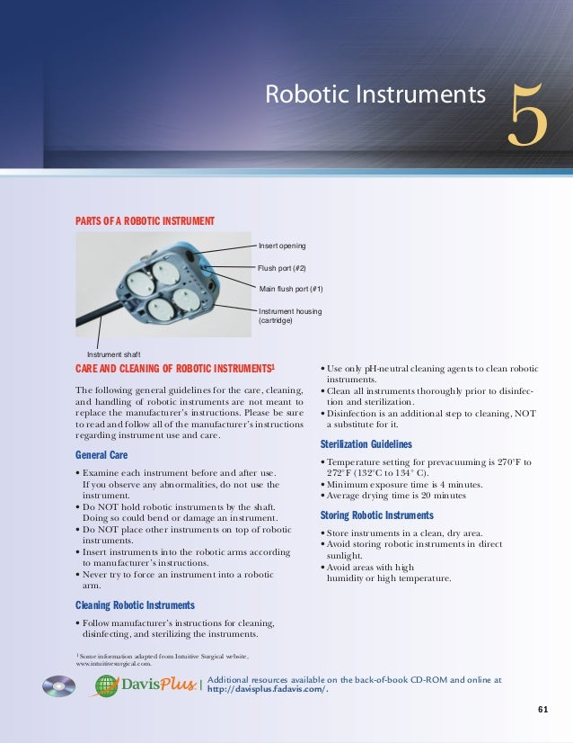 62 CHAPTER 5 Robotic Instruments Name: hand controls Alias: none Category: accessory Use: controlling movement of robotic ...