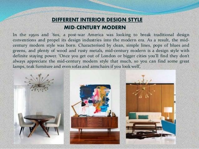 Different Interior Styles