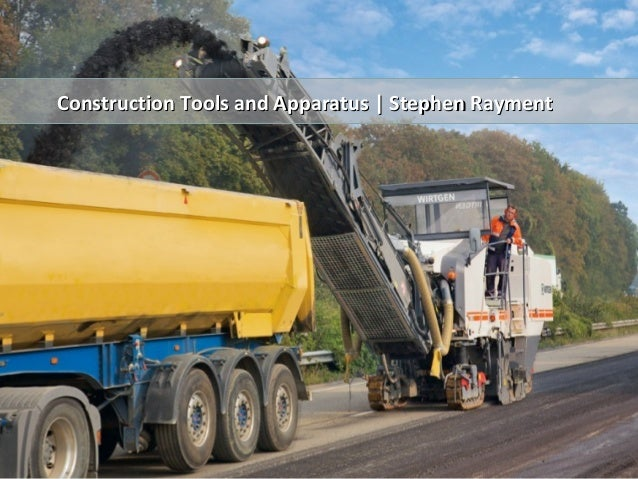 Construction Tools and Apparatus | Stephen RaymentConstruction Tools and Apparatus | Stephen Rayment