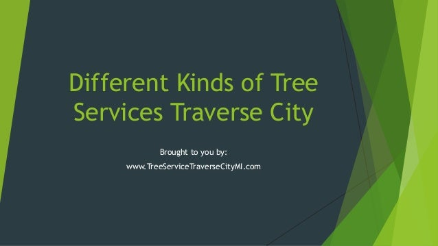 Different Kinds of Tree Services Traverse City Brought to you by: www.TreeServiceTraverseCityMI.com