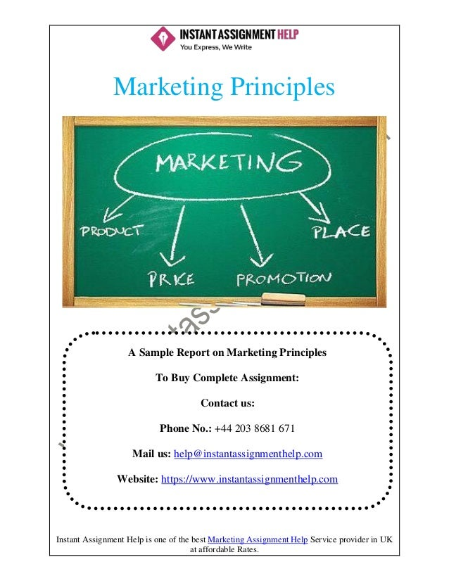 Different marketing principals for business development