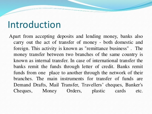 remittance slip definition