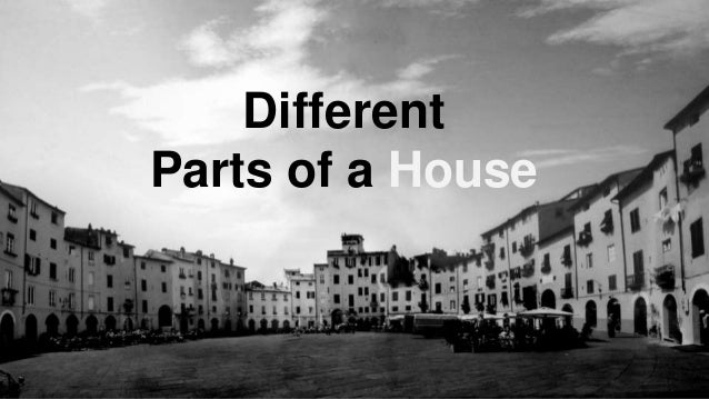 Different Parts of a House