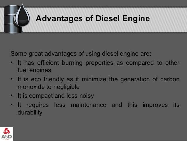 advantages of diesel fuel
