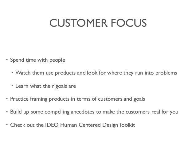customer focus skills