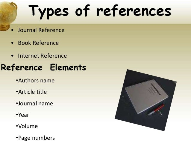 Apa format references