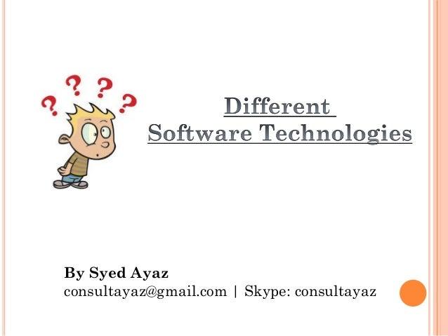 By Syed Ayaz consultayaz@gmail.com | Skype: consultayaz