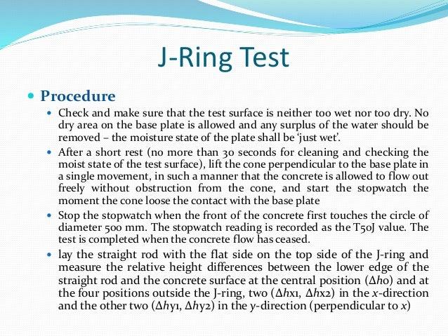 test on fresh concrete pdf