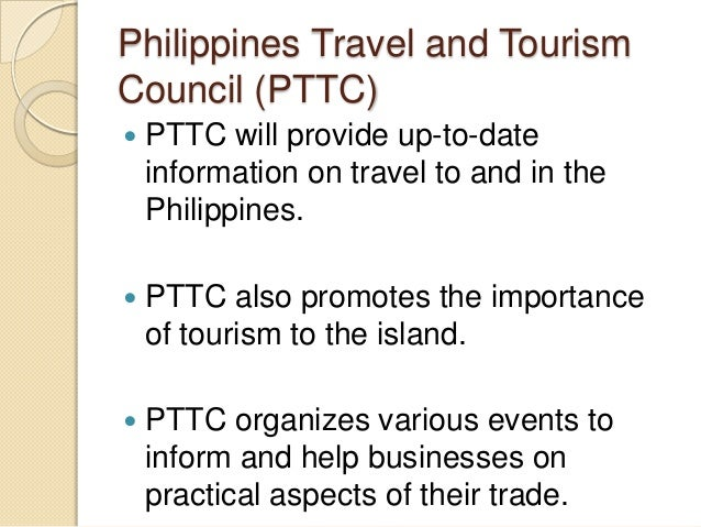 importance of tourism in the philippines The tourism industry plays an important role in the philippine philippine department of tourism of the english language in the philippines by.