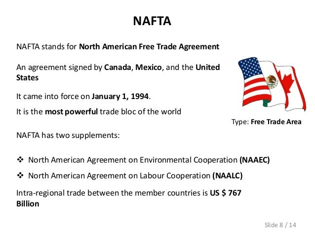 an analysis of nafta in 1994 Weekly analysis of newly proposed and final rules how a nafta withdrawal would hurt the us economy when nafta went into effect in 1994.
