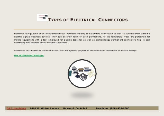 Different types and uses of electrical connectors
