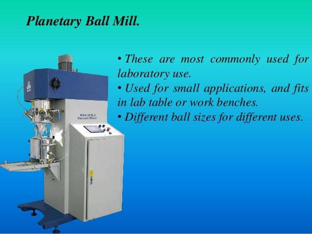 Different Types Of Ball Mills