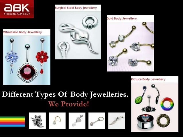 Different Types Of Body Jewelleries.We Provide!