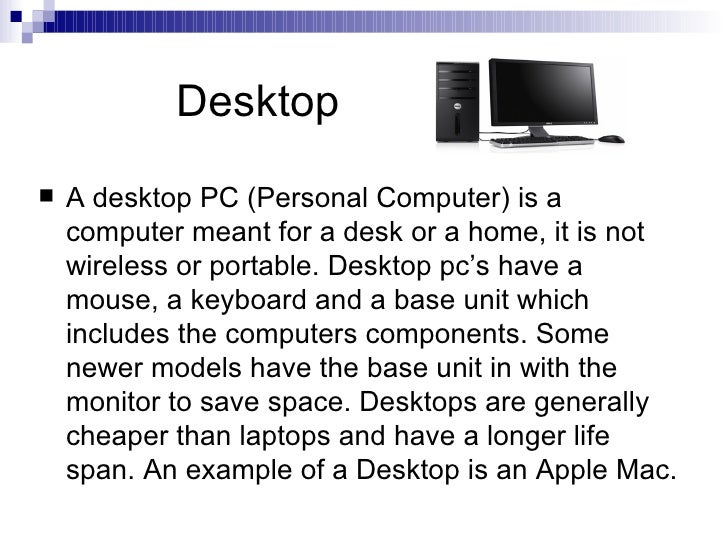 different types of computers Computers and computing devices from different eras computers are used as control systems for a wide variety of industrial and consumer devicesthis includes simple special purpose devices like microwave ovens and remote controls, factory devices such as industrial robots and computer-aided design, and also general purpose devices.