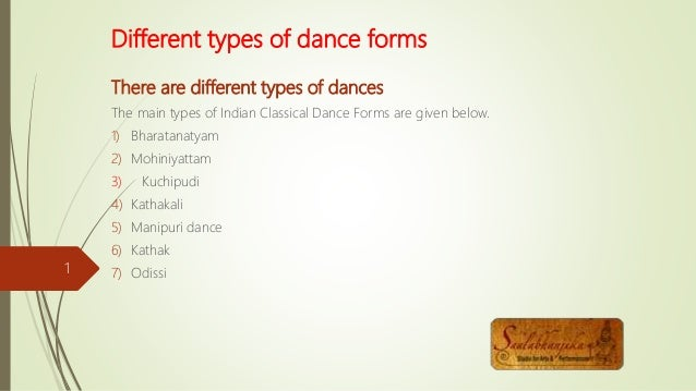 what kind of dances are there