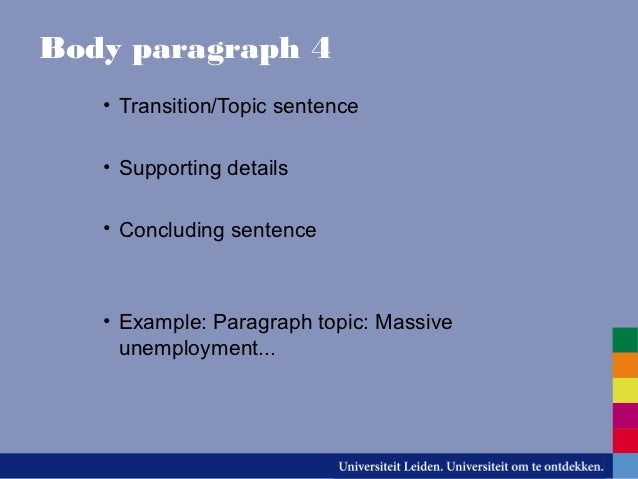 different types of essays 8 body paragraph 4