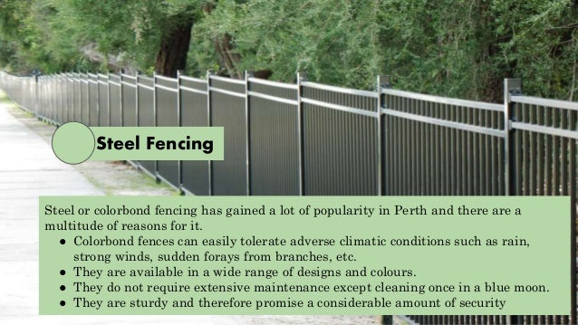 Different Types Of Fencing Materials